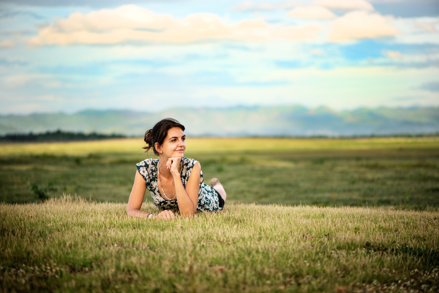 young woman lying on the grass - 4 Tips to Help You Overcome the Fear of Photographing People
