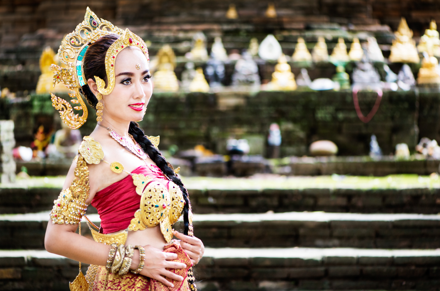 Young Thai woman in traditional costume - 4 Tips to Help You Overcome the Fear of Photographing People