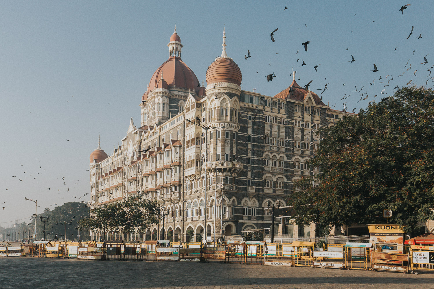Taj hotel Mumbai India at Sunrise - What are your biggest fears as a photographer?