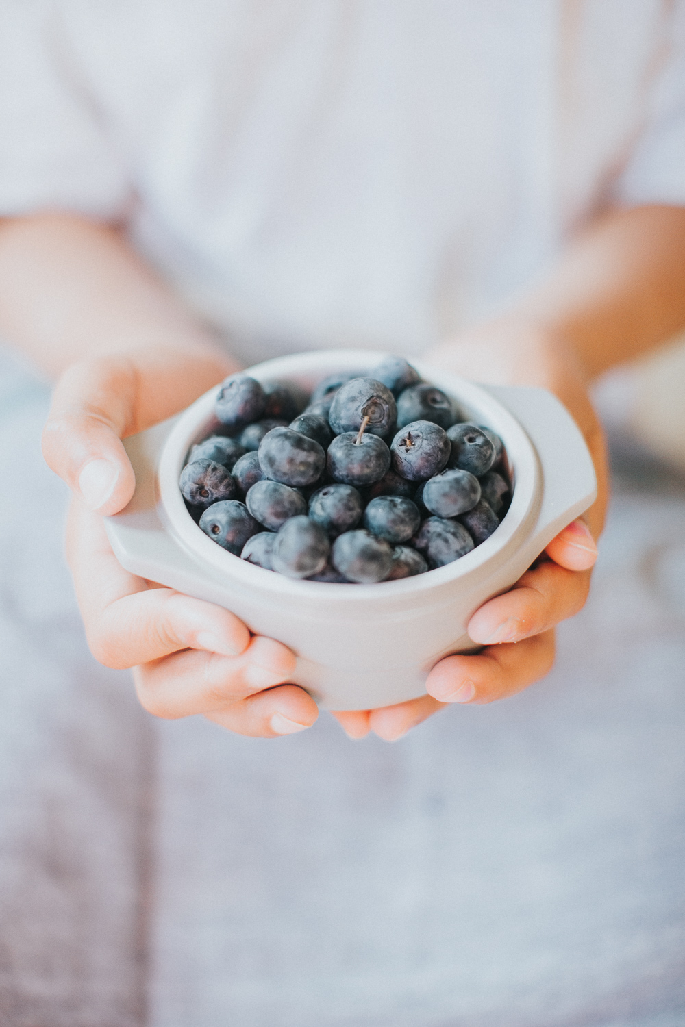 Color Adjustment Blueberries in a bowl photo still life image