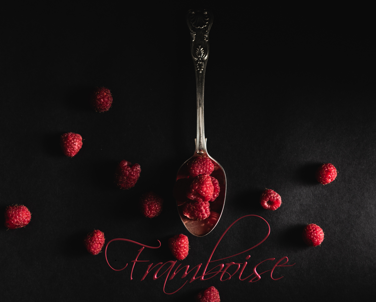 How Aesthetic Differs From Photographic Style And Why it Matters - raspberries in a spoon