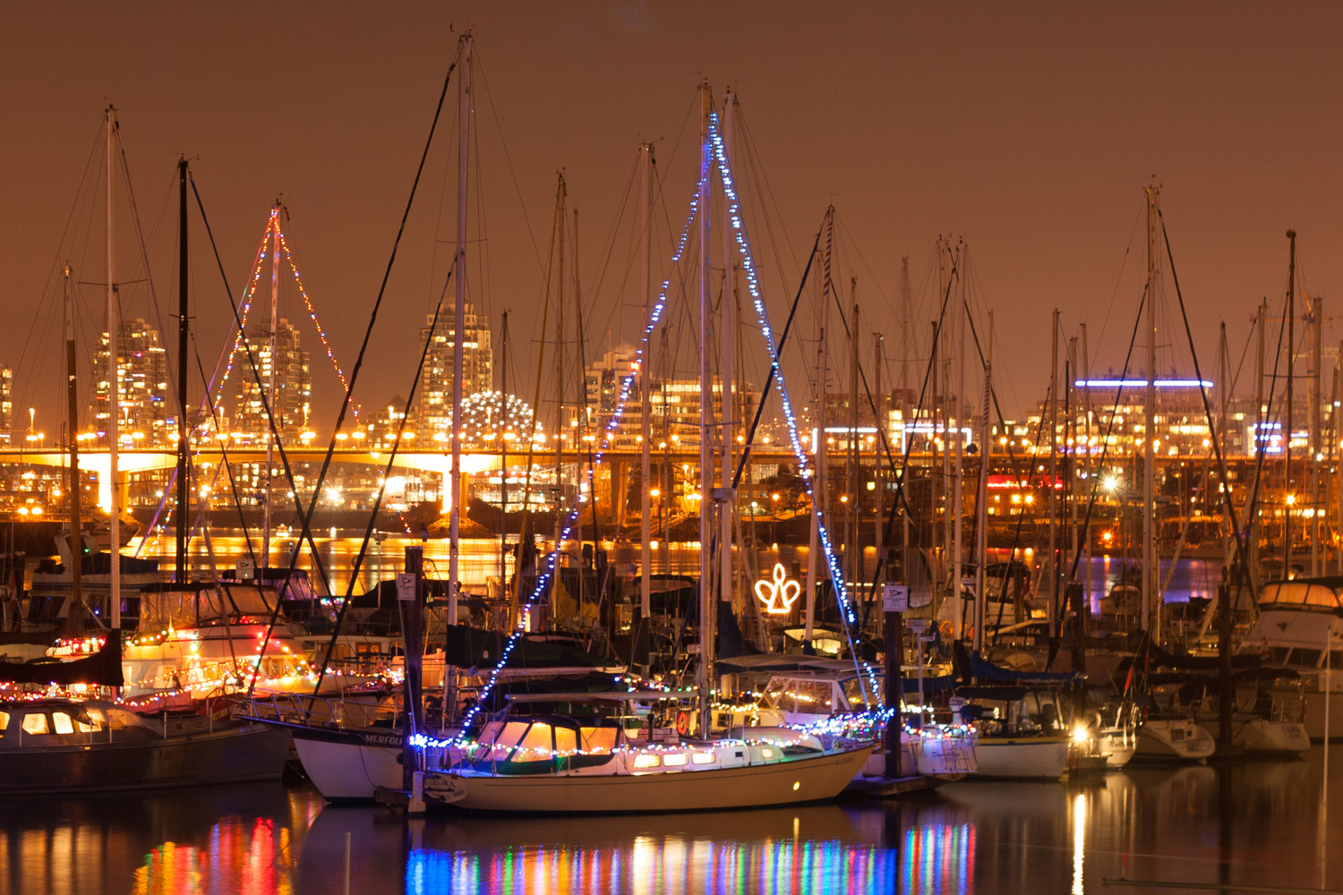 Tips for Better Results When Shooting in Low Light Conditions - marina at night shot