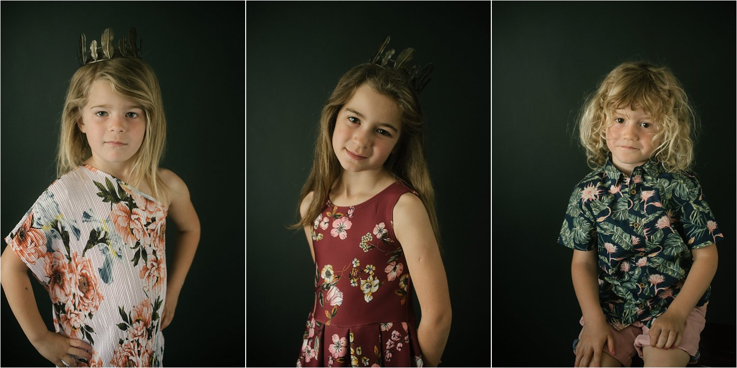 portraits of 3 girls - Basic Photoshop Tutorial - How to Add Creative Overlays to Your Portraits