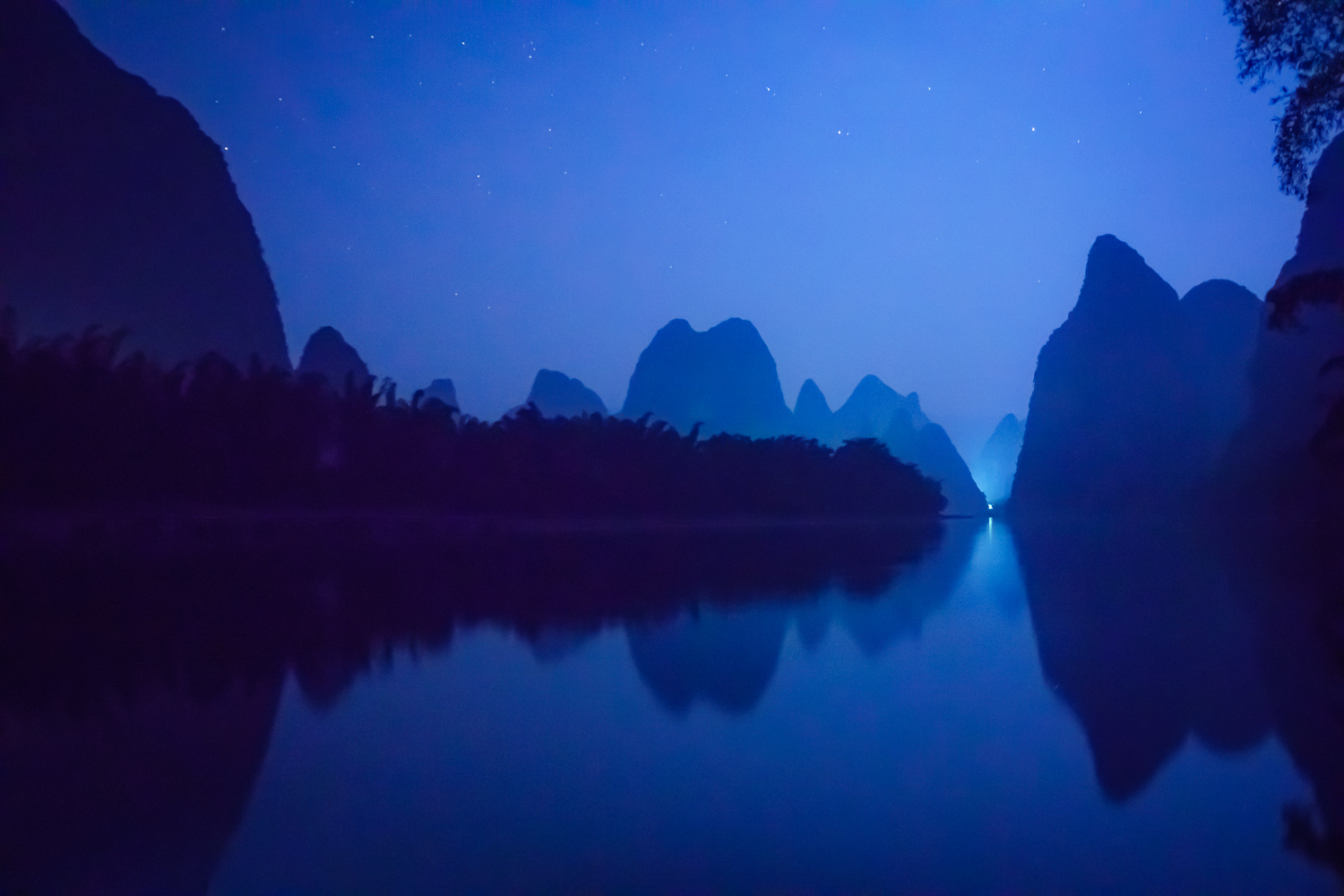 Li River and Karst Mountains in Guilin, China - Beginner's Guide to Natural Light in Landscape Photography