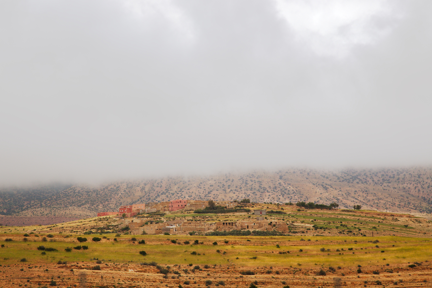 A mountain landscape in Morocco. Tips for Taking Better Pictures from a Moving Vehicle