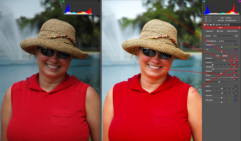 Basic Adjustments - Photography Skills