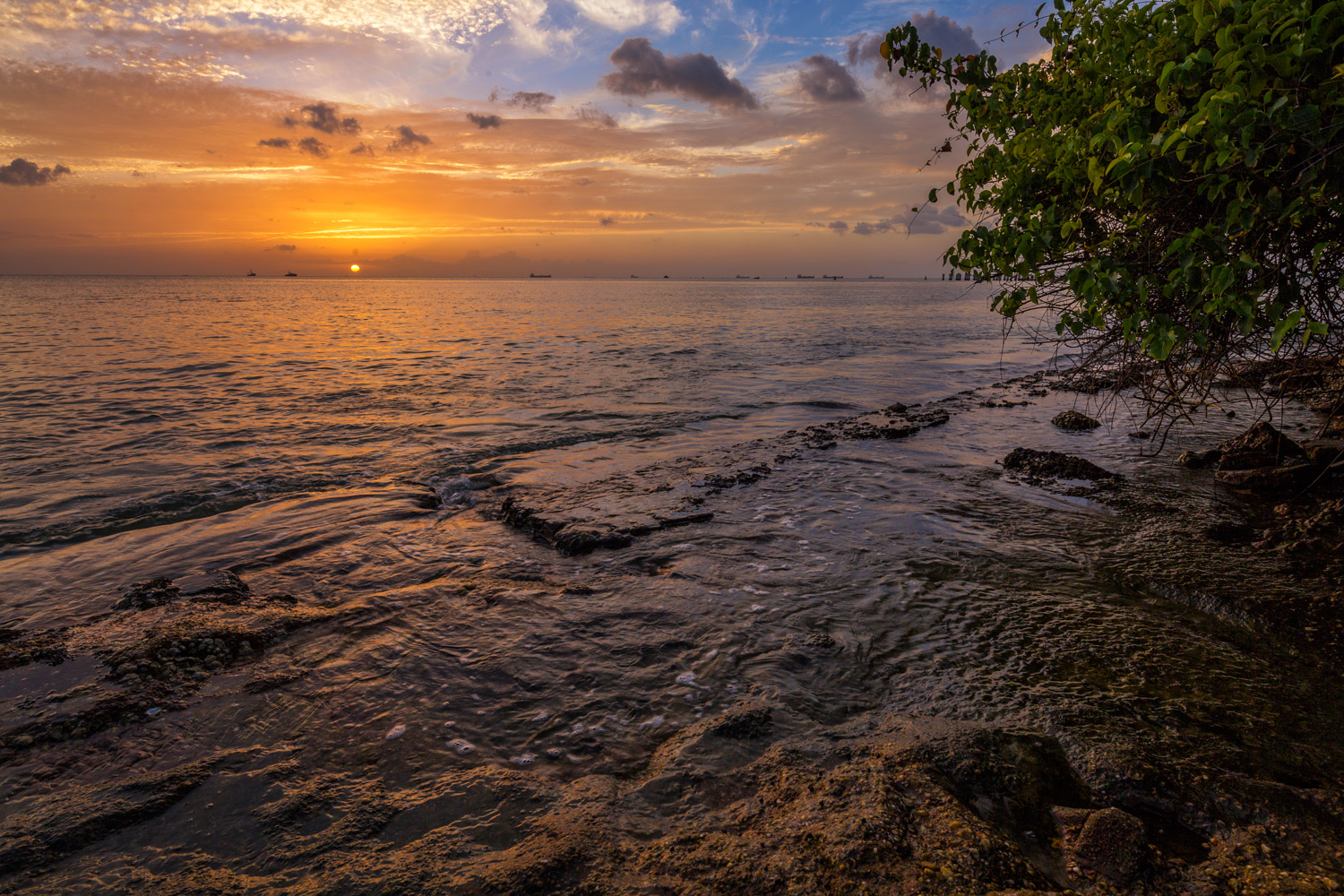 sunset on the water - Using HDR Photography to Your Advantage