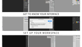 How to Set Up the Photoshop Interface and Workspace for Maximum Efficiency