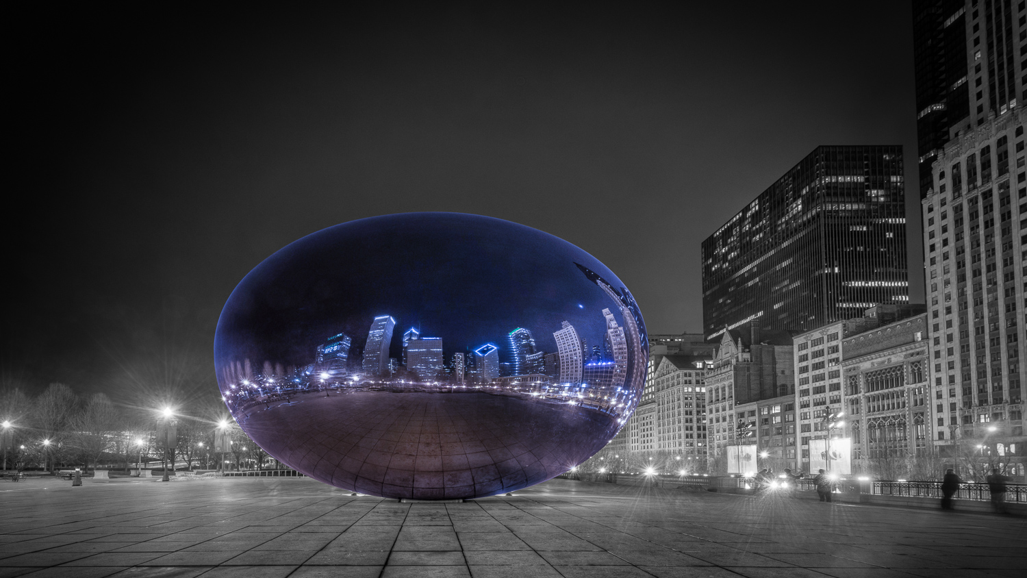 Chicago the Bean - Learn How to Use the Strength of Selective Color