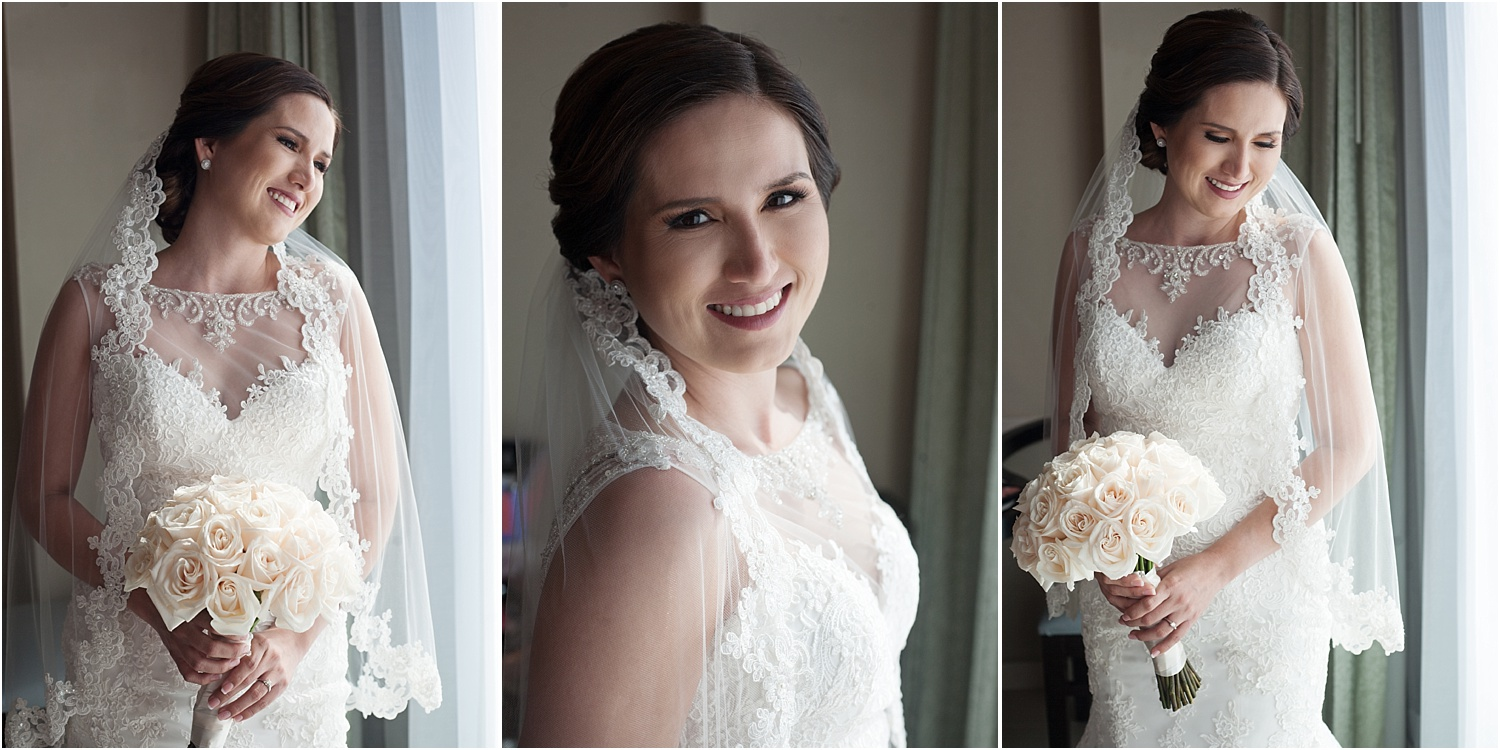 bride near a window - Tips for Better Bridal Portraits
