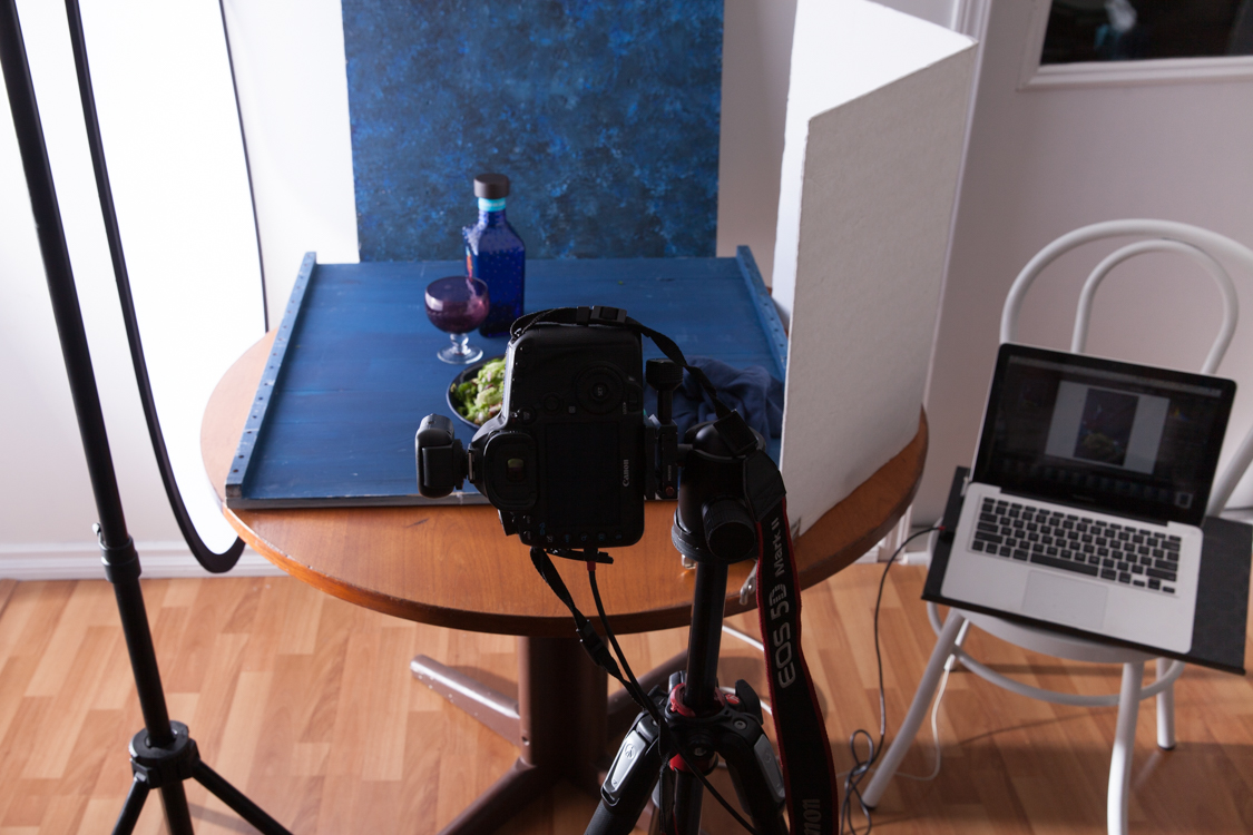 Image: A tripod is essential for framing your shots.