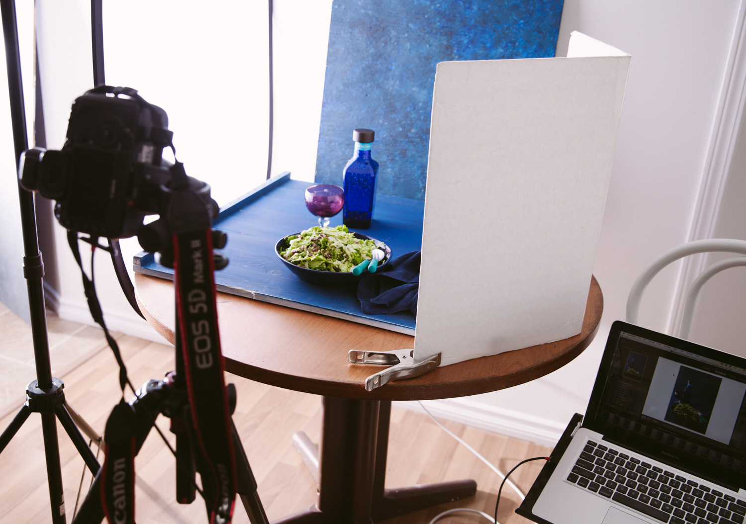 Image: You can also use plain white boards as reflectors in tight spots. Get some clamps to hold the...