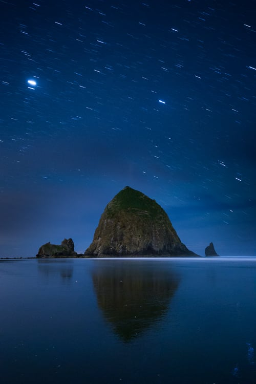 Haystack rock - How to Use Neutral Tones to Craft Realistic Edits for Landscape Photos