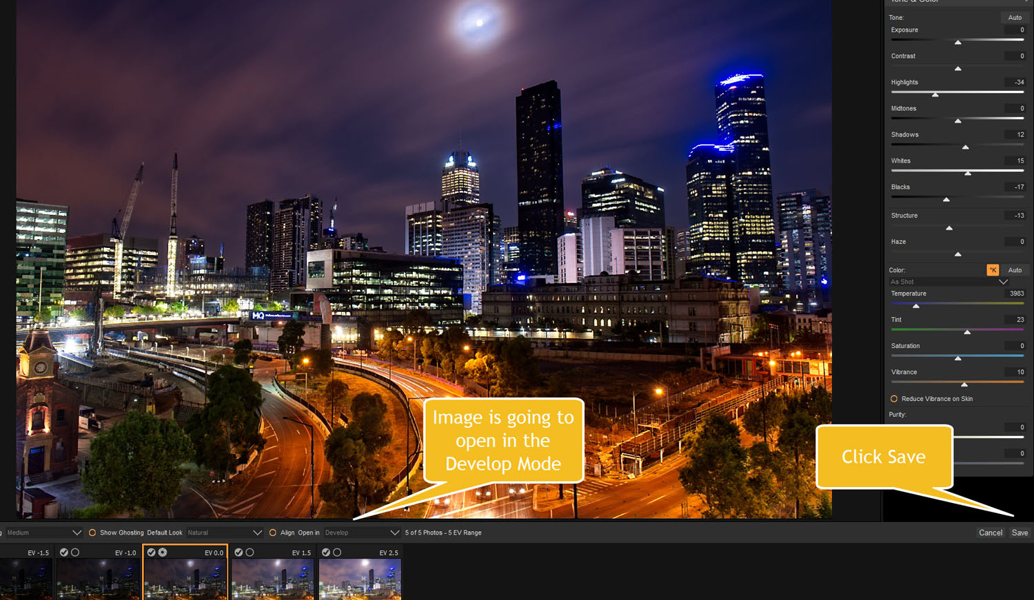 Tips for Processing Night Photography with ON1 Photo RAW 2018