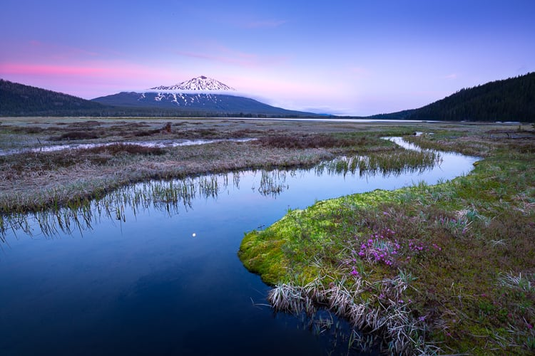 Mount bachelor - How to Use Neutral Tones to Craft Realistic Edits for Landscape Photos