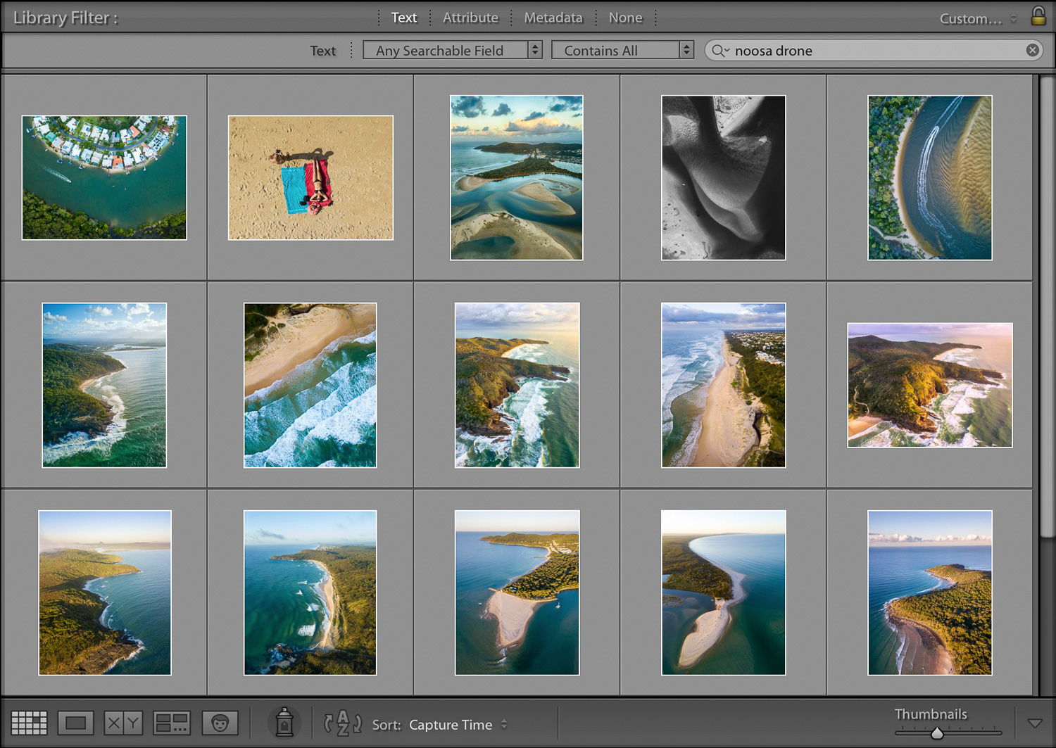 library filter - How to Organize Your Photos by Location in Lightroom
