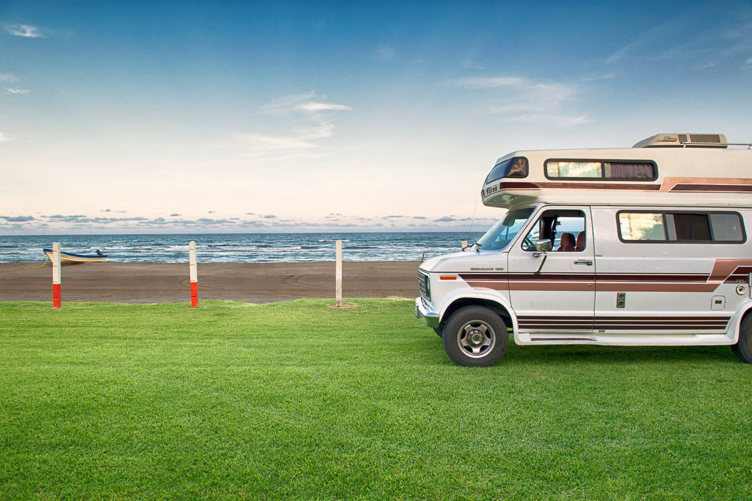 camper van on the grass - How to Organize Your Photos by Location in Lightroom
