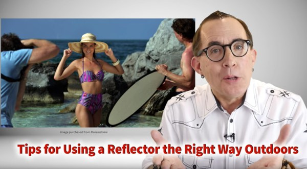 Tips for Using a Reflector the Right Way Outdoors