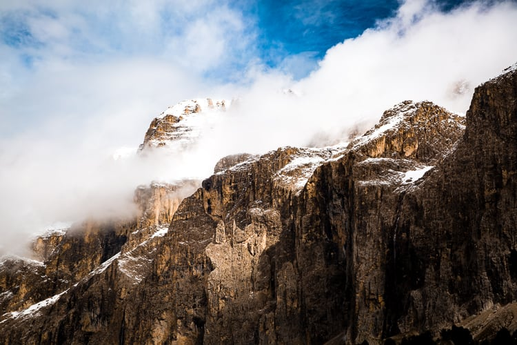 Sella towers - How to Use Neutral Tones to Craft Realistic Edits for Landscape Photos