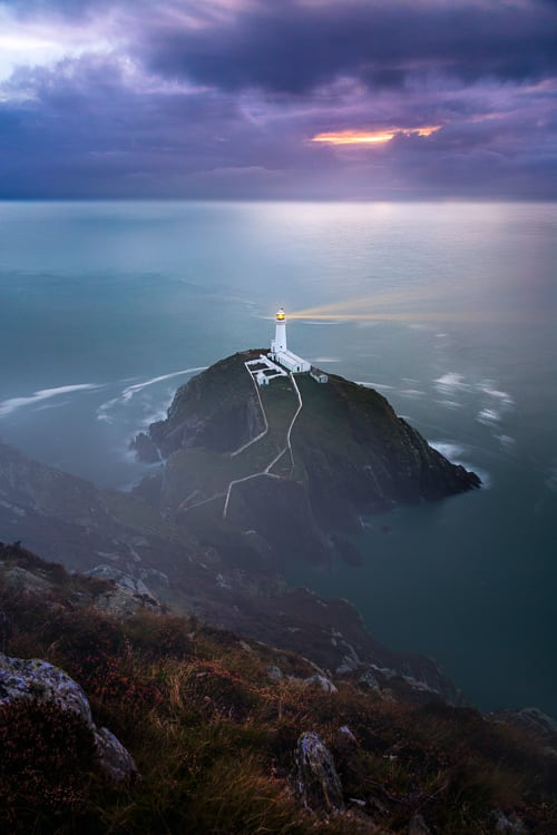 South stack lighthouse - How to Use Neutral Tones to Craft Realistic Edits for Landscape Photos