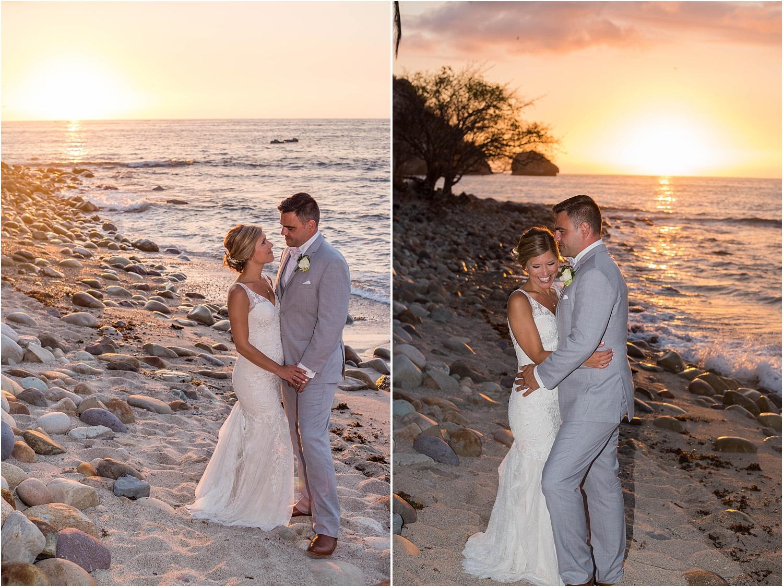 wedding portrait on the beach - Using Flash for Beach Portraits