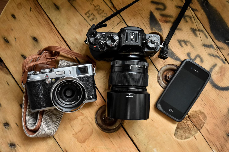 富士相机 - 创意摄影师的3个行情