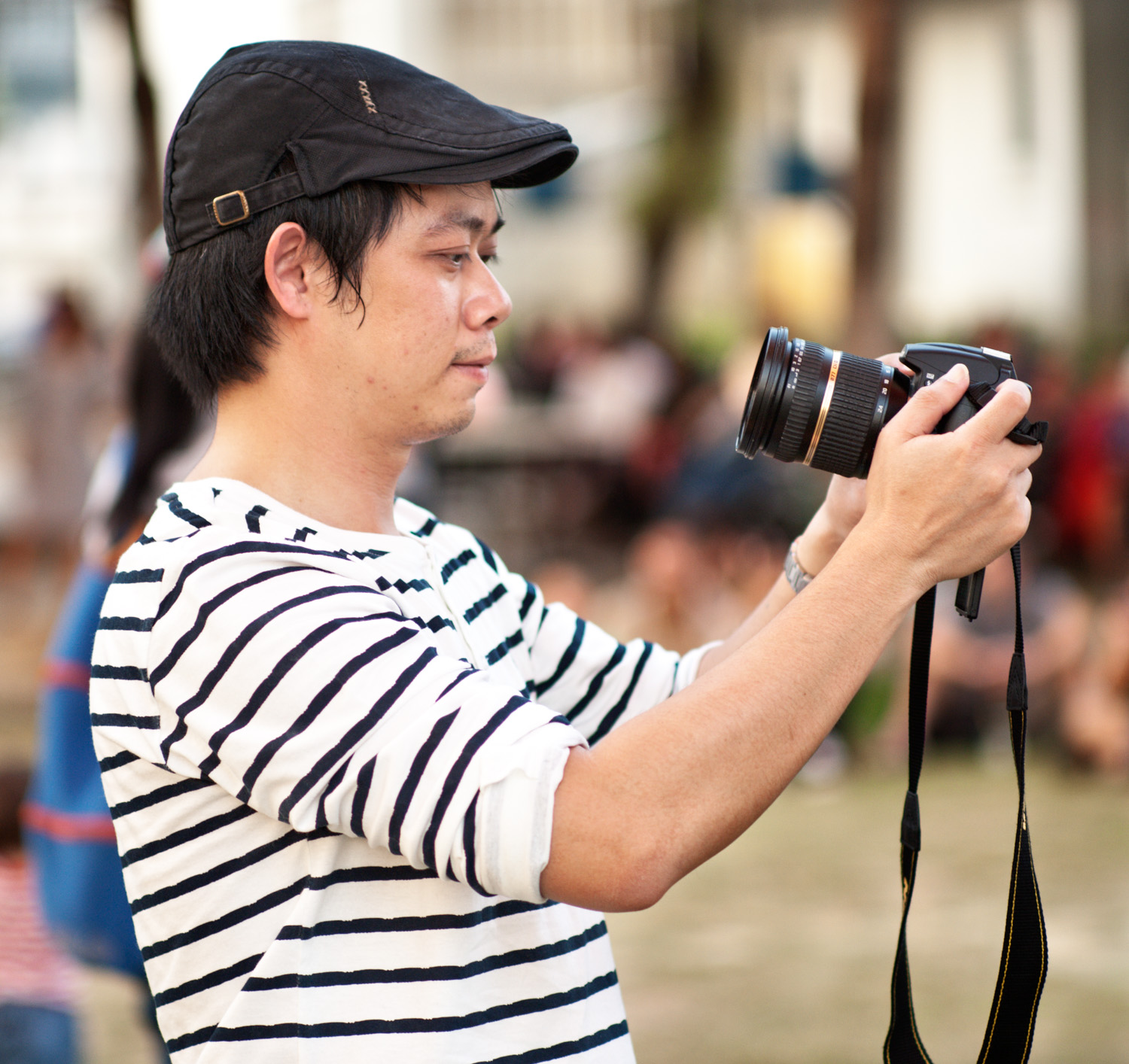 Photographer at an Outdoor Event - Pros and Cons of Upgrading from a Phone to a Real Camera