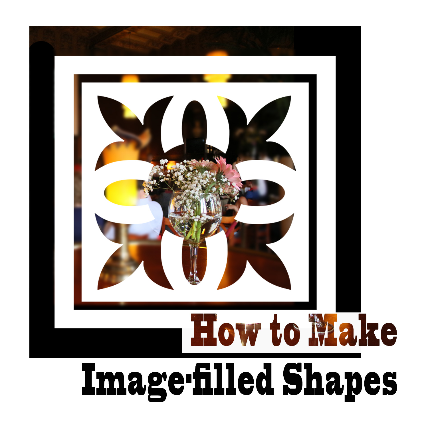 How to Make Image-Filled Shapes in Photoshop