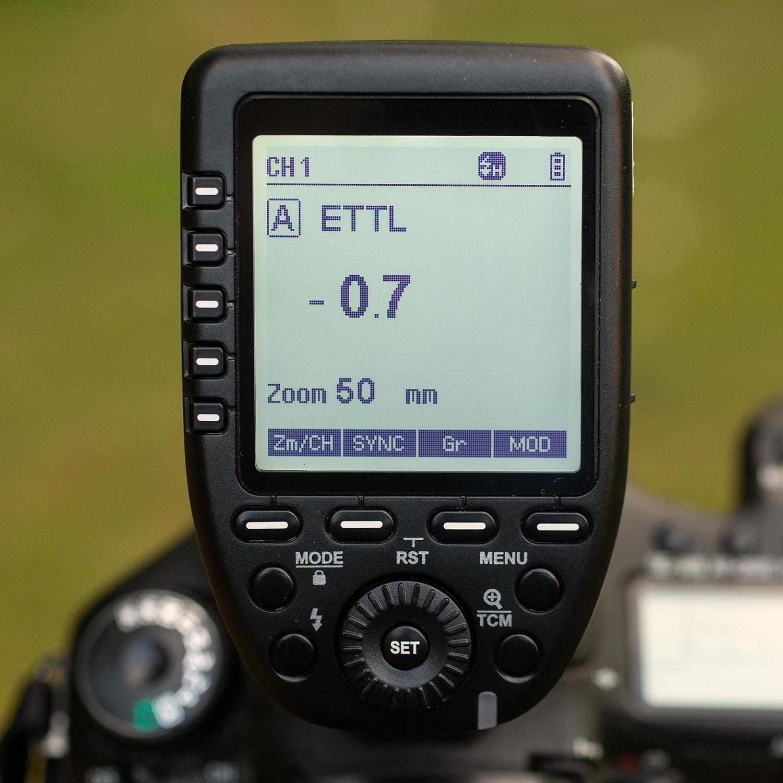 Light Review: The PiXAPRO CITI600 Portable Strobe (Godox Wistro AD600BM) - flash trigger