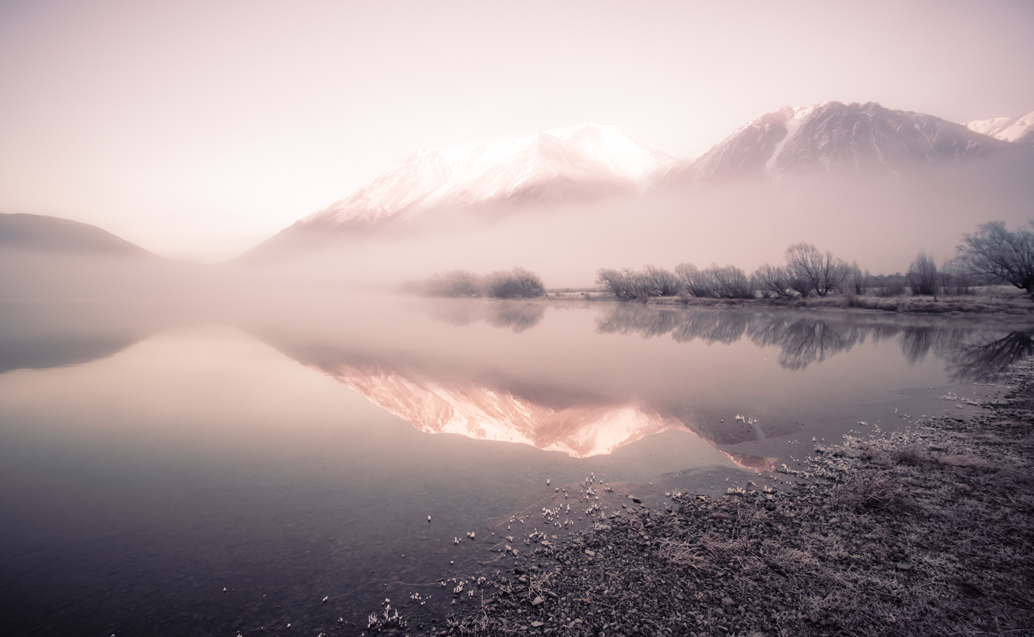 Why Your Camera Gear Doesn't Matter - frosty morning mountains