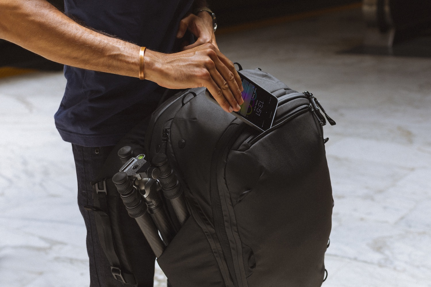 Image: Whatever you want to bring, there's probably a pocket to hold it. Photo courtesy of Pea...