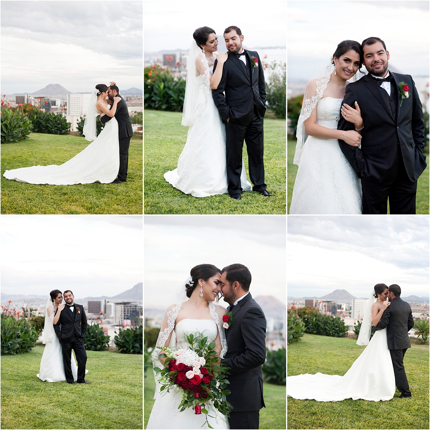 6 wedding couple poses - wedding day photography