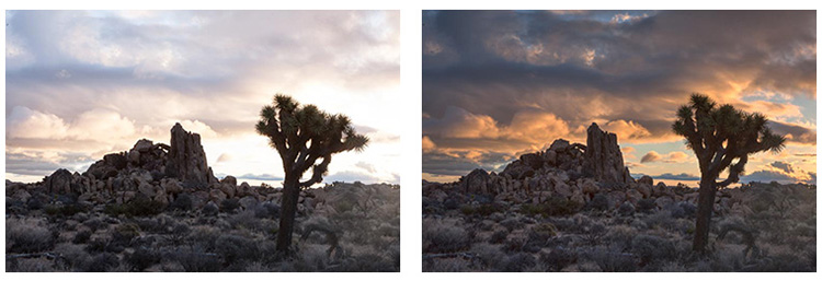 Twilight before and after - Making the Best Use of HDR in Landscape Photography