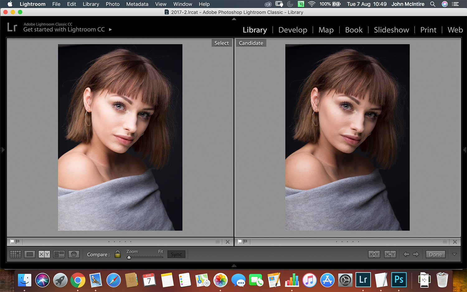 raw processing in Lightroom - Why I've Become a Light Meter Convert