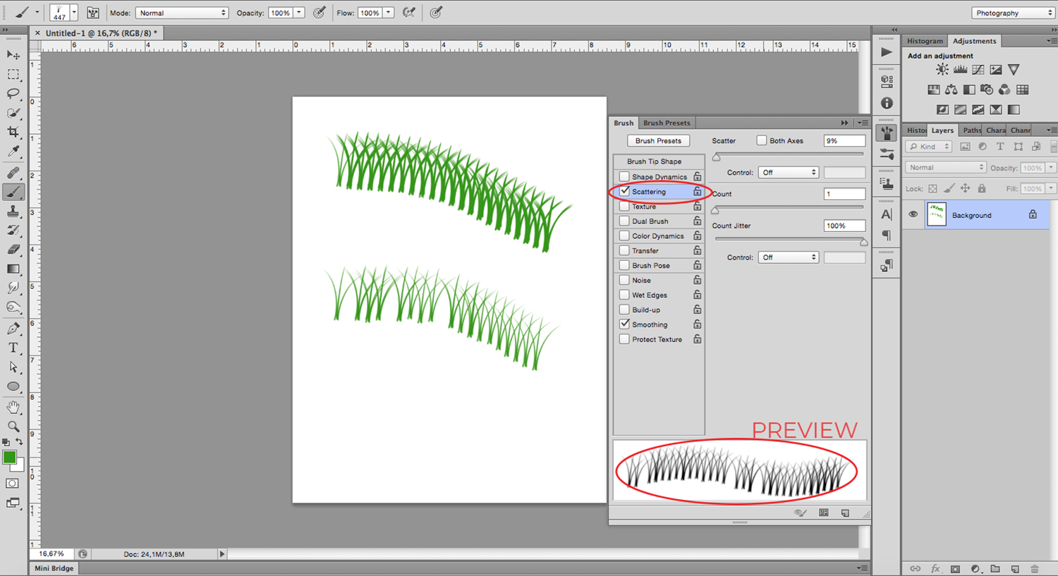How to Create a Custom Brushes in Photoshop