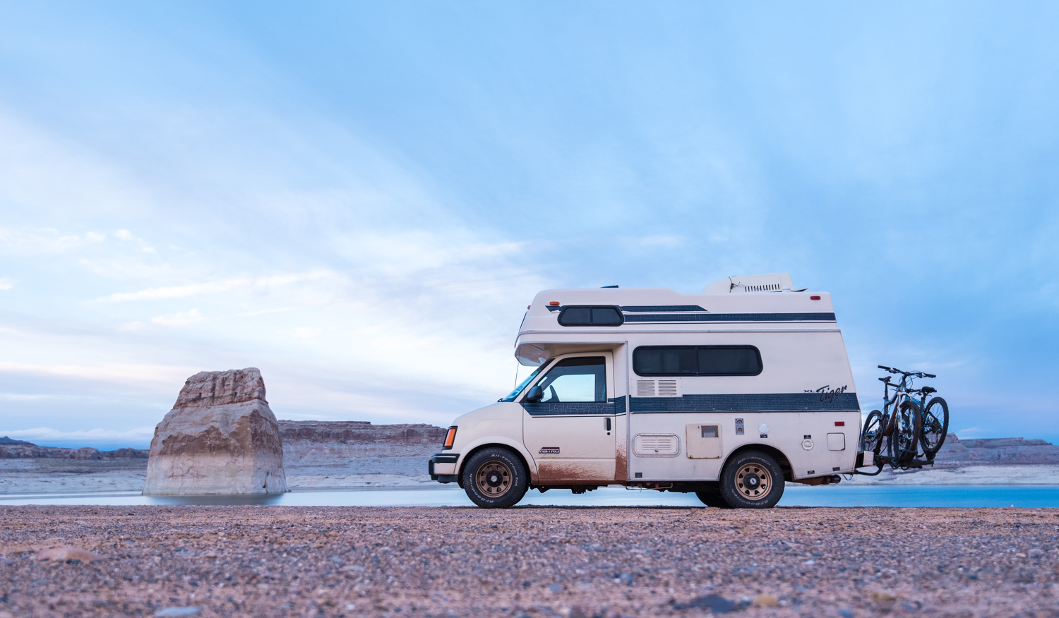 Batteries and Backups: How to Shoot Off the Grid - camper van