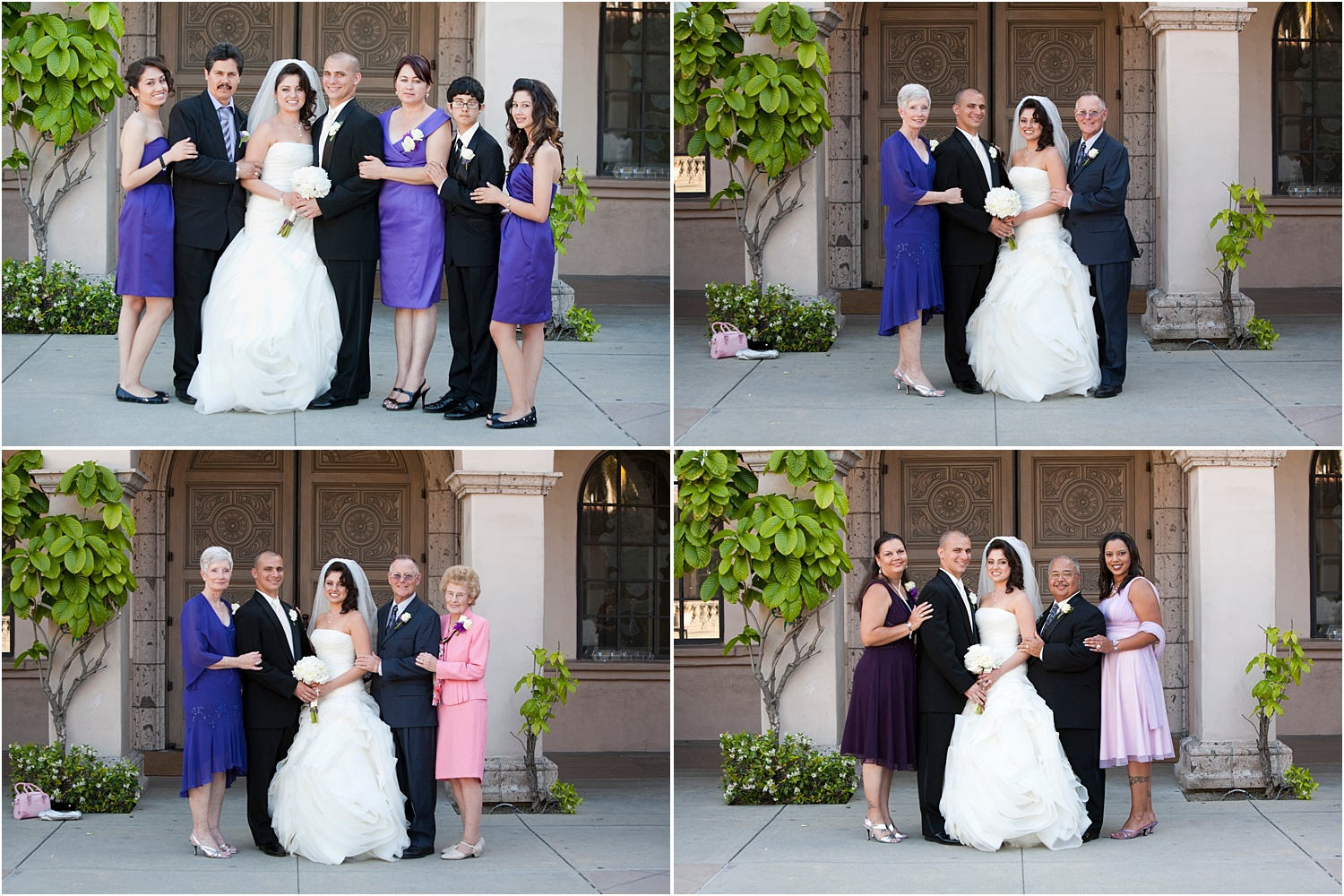 How to photograph family and bridal party portraits quickly at weddings 2