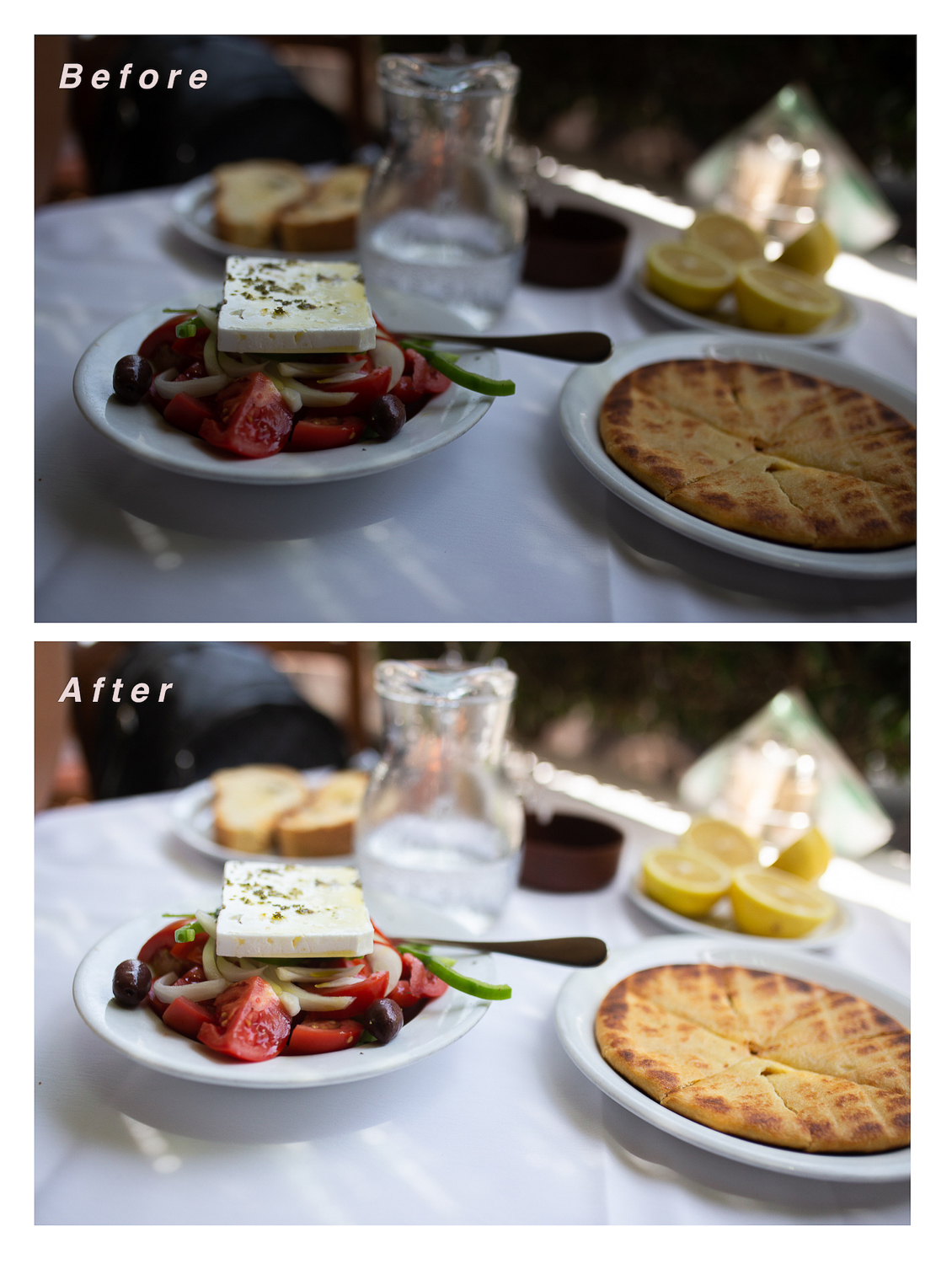 How to Achieve a Consistent and Clean Photo Editing Style - Focus on Lighting example 03
