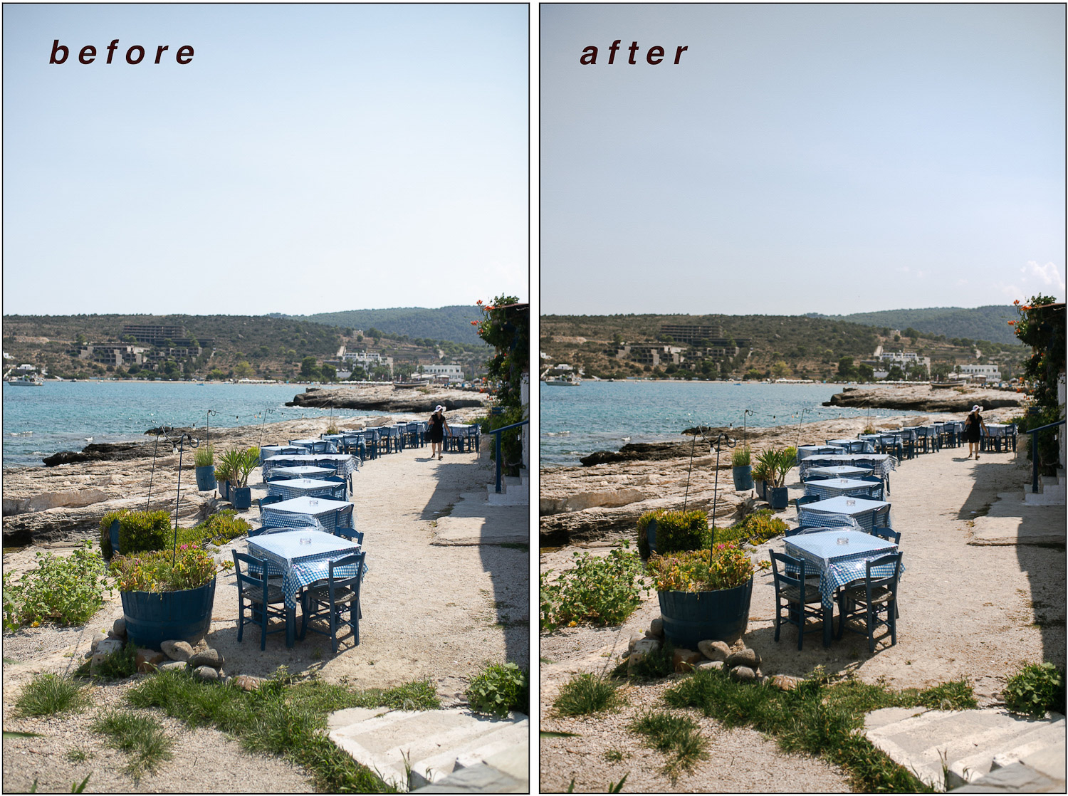 How to Achieve a Consistent and Clean Photo Editing Style - Using Presets in Lightroom Example image