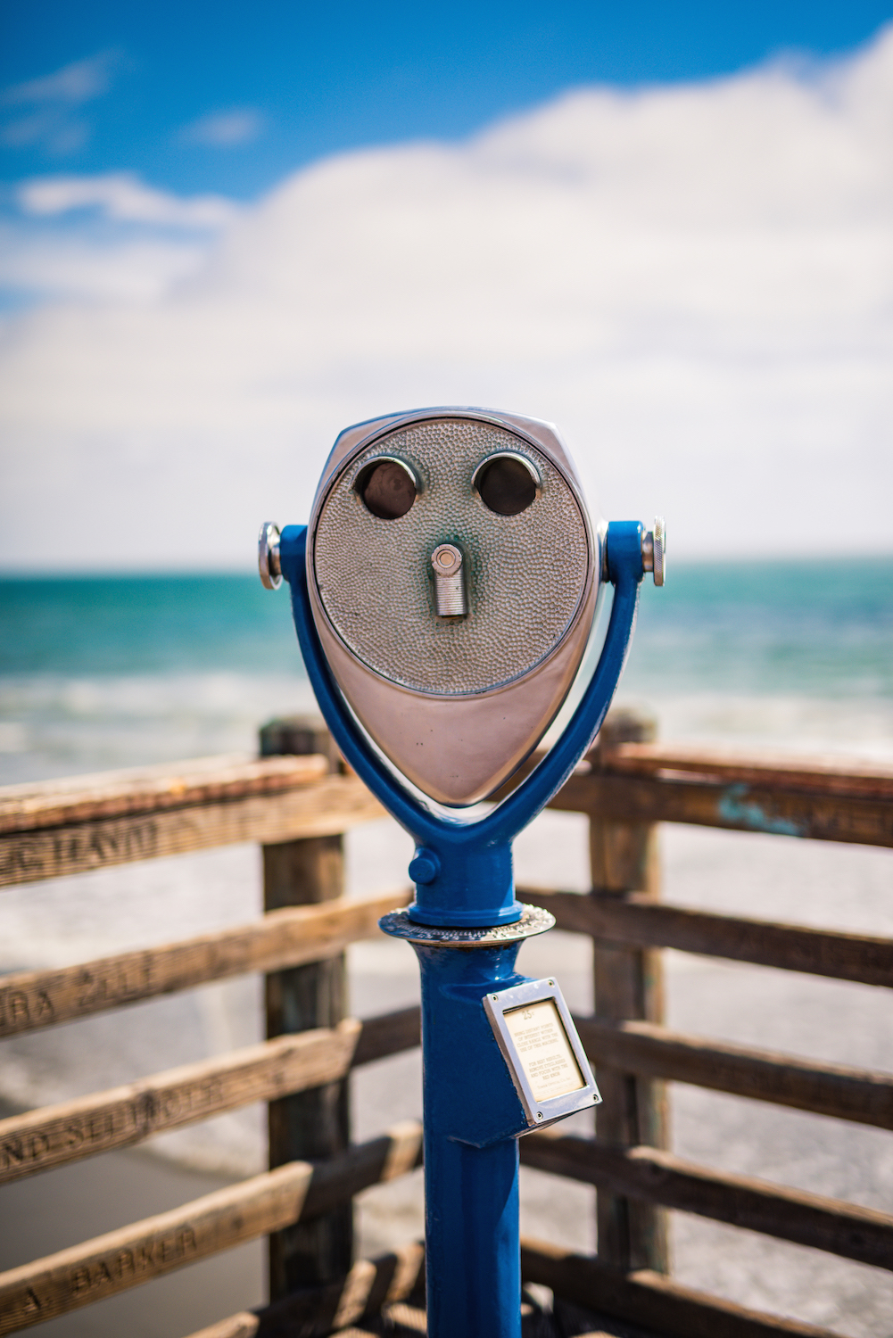 Road trip photography tips - scenic telescope viewer