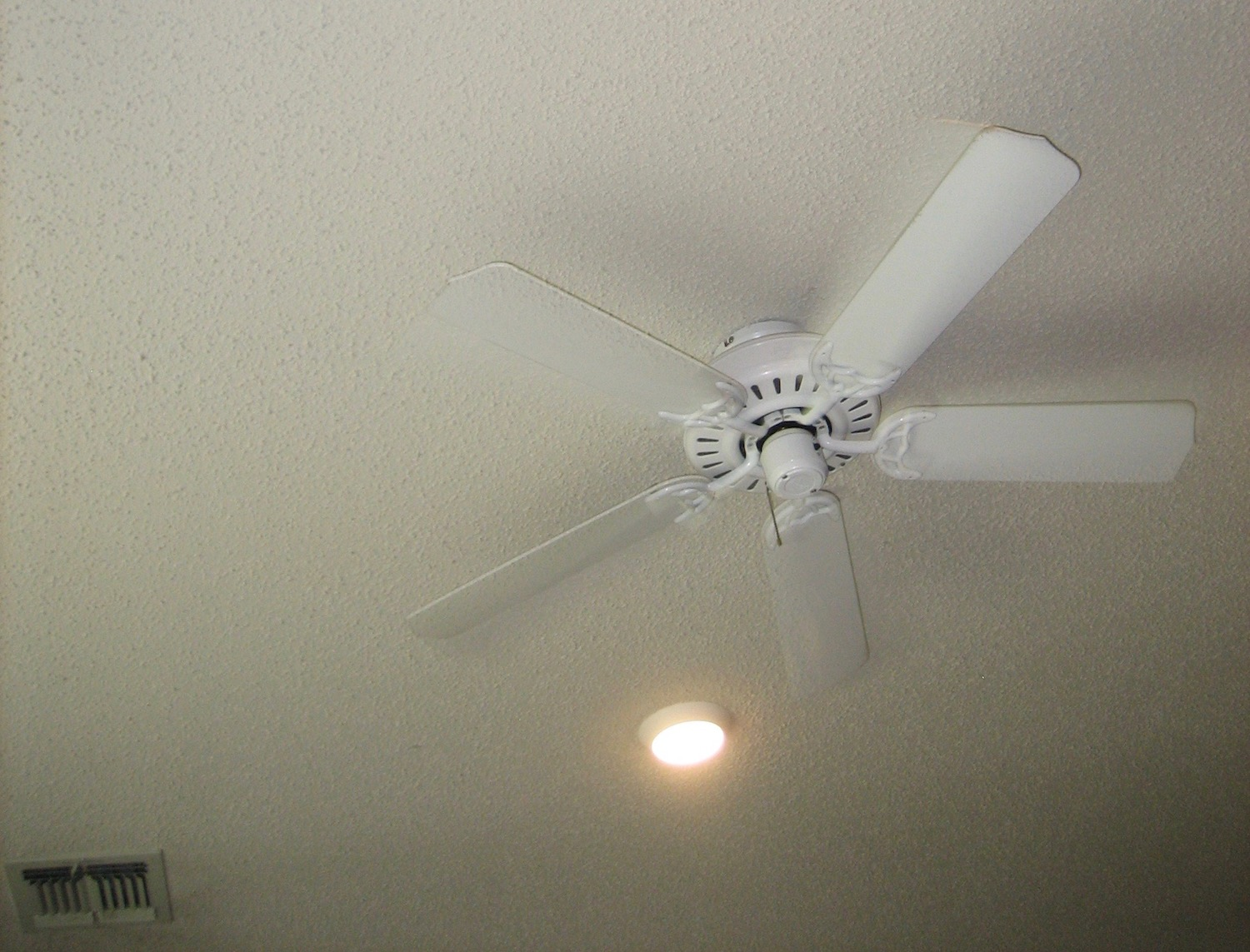 Image: I have no idea why, but my six-year-old is obsessed with taking pictures of ceiling fans. Thi...