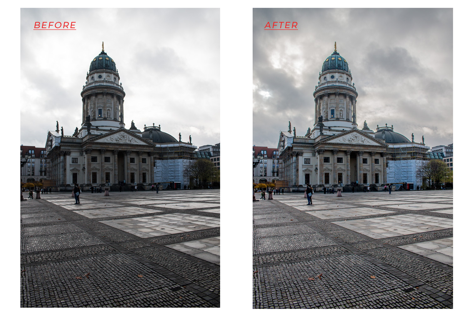 Balance Exposure in Adobe Camera Raw to Improve Your Photographs - Before and After Comparison