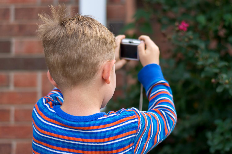 如何让孩子对摄影感兴趣3