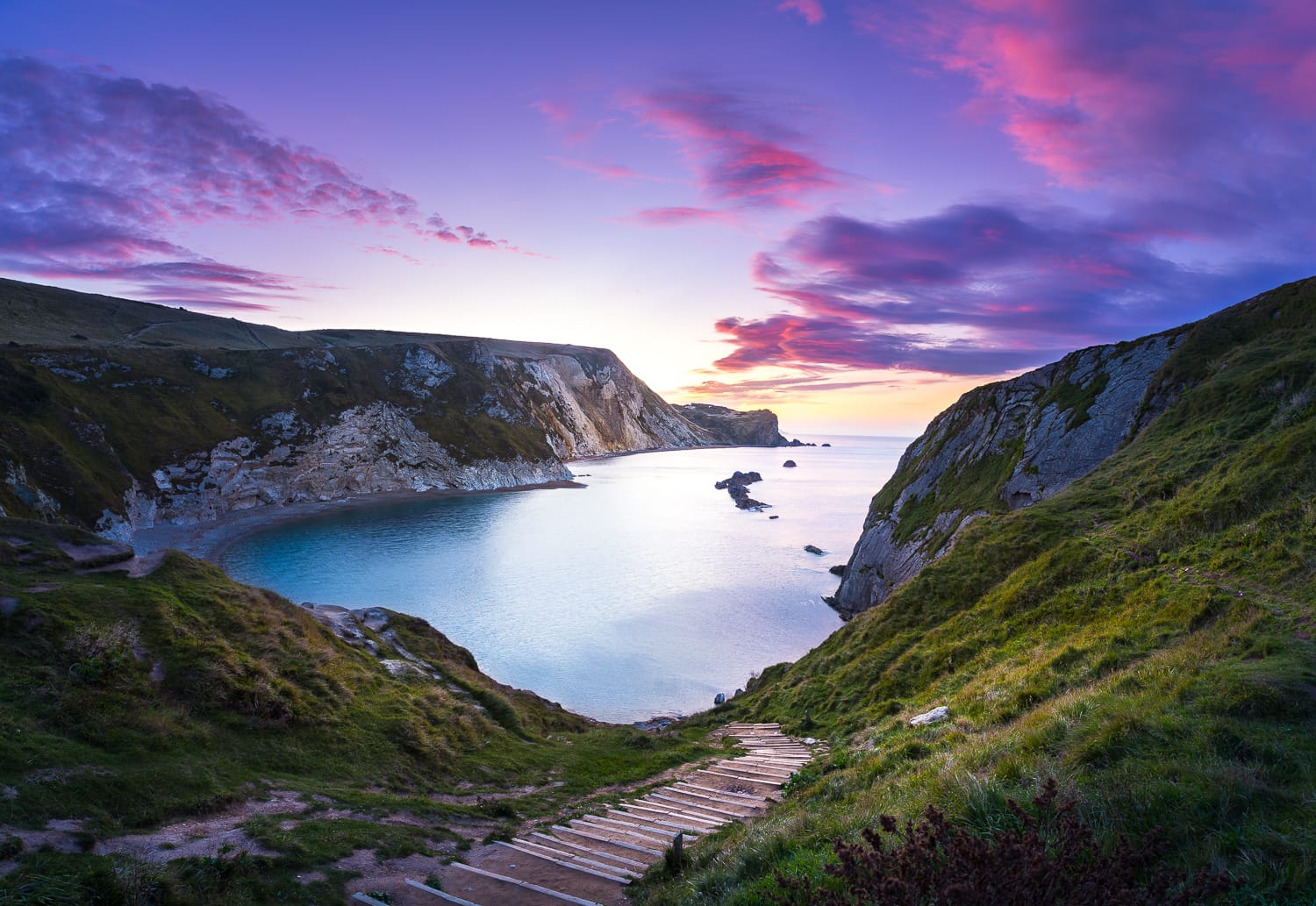 Man-O-War Bay, Dorset, England