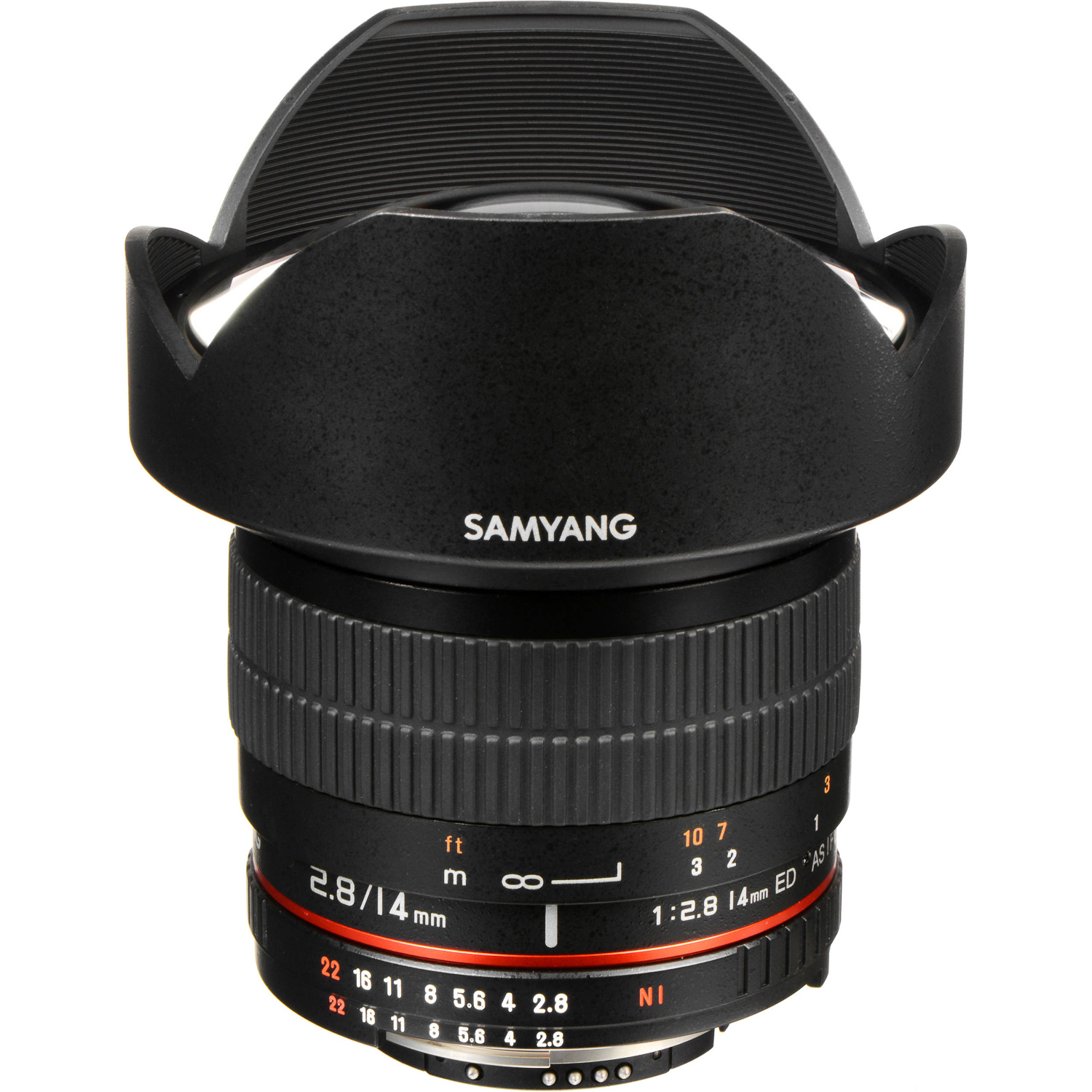 Samyang 14mm f/2.8 lens for astrophotography