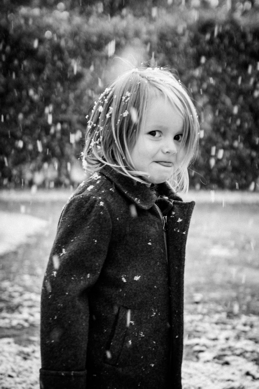 снег фото