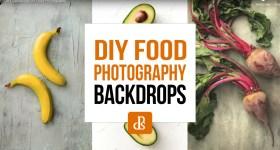 diy food photography backdrops