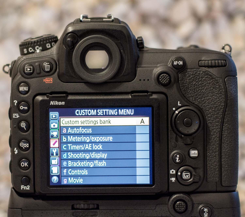 3 Nikon Custom Modes