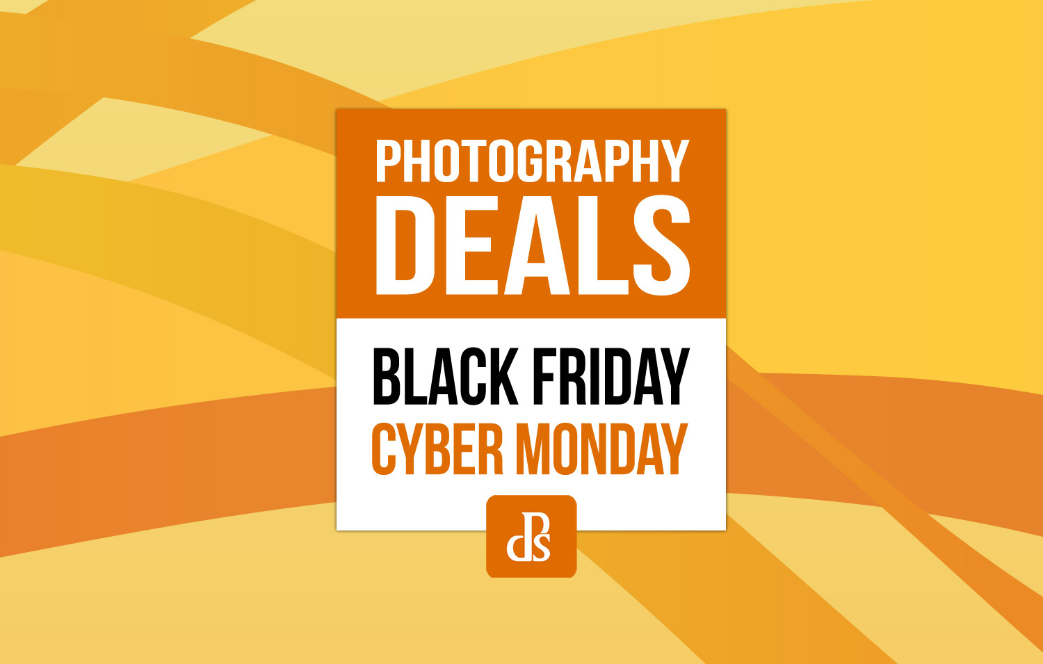 Black Friday Cyber Monday Photography Deals