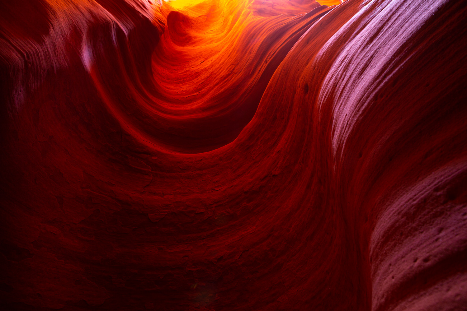 Image: Slot Canyon, Arizona, USA © Jeremy Flint